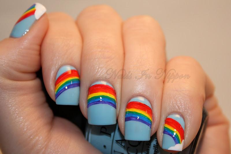 Nails in nippon november 2011 day 2 rainbow nails solutioingenieria Gallery