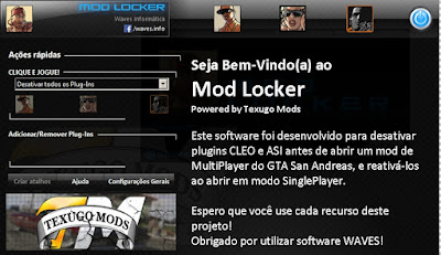 GTA SA - Waves ModLocker 3.0
