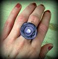 Como hacer anillos con tela