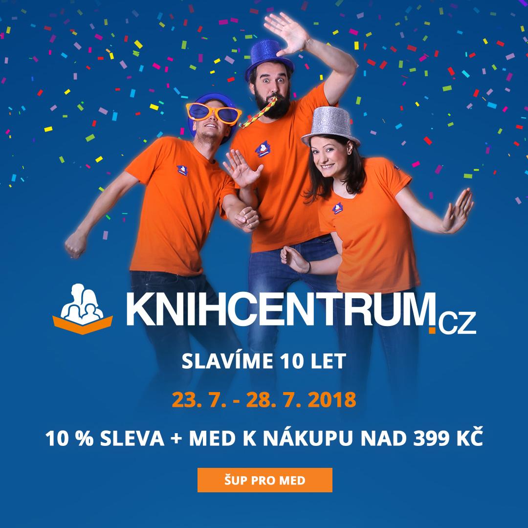 KNIHCENTRUM slaví 10 let!