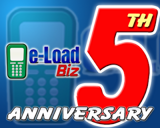 e-LoadBiz 5th Year Anniversary Giveaway