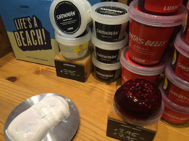Lush Shower Jelly Santa's Belly and Snowman