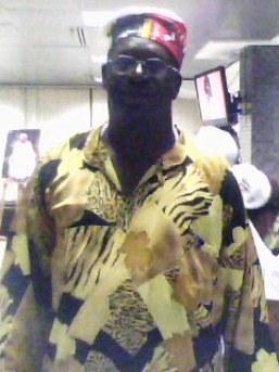 Nadinho do Congo - Fundador do Afoxé Filhos do Congo, Salvador - Bahia