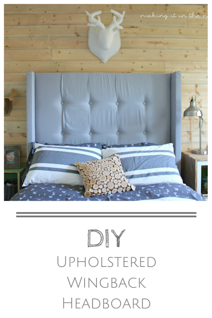 DIY Headboard- Making It IN The Mountains-Weekly Blog Link Up Party- Treasure Hunt Thursday- From My Front Porch To Yours