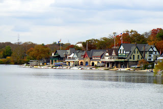 Boathouse Row on the Schuylkill River
