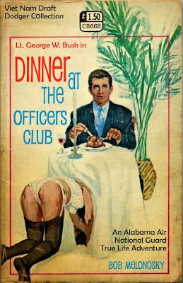 George W. Bush officer dinner funny Bob Melonosky