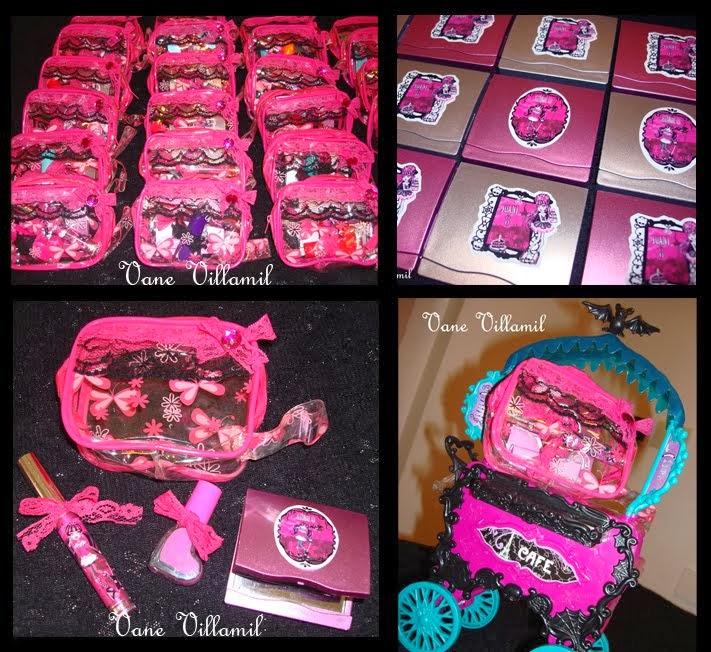 Souvenirs para nenas: set de belleza