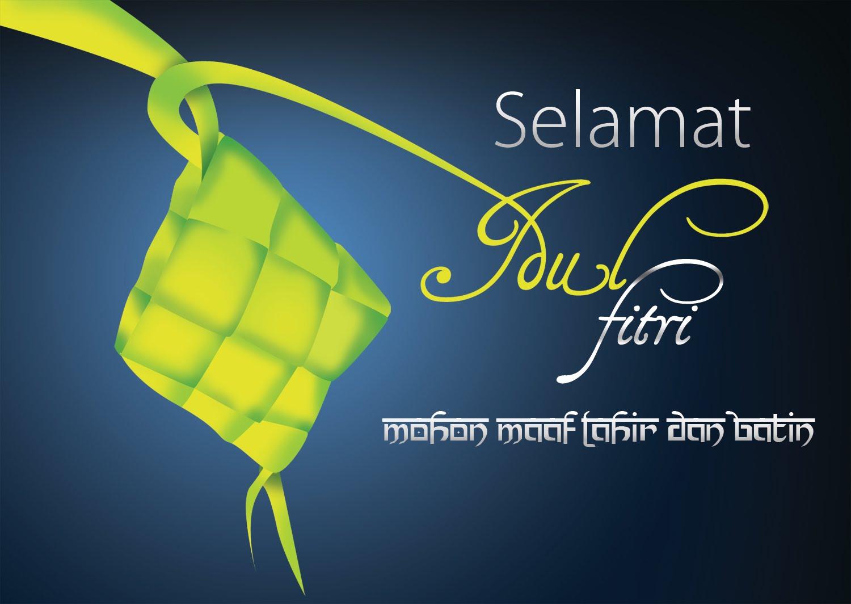 Kartu Ucapan Selamat Idul Fitri 1434 H Lebaran 2013