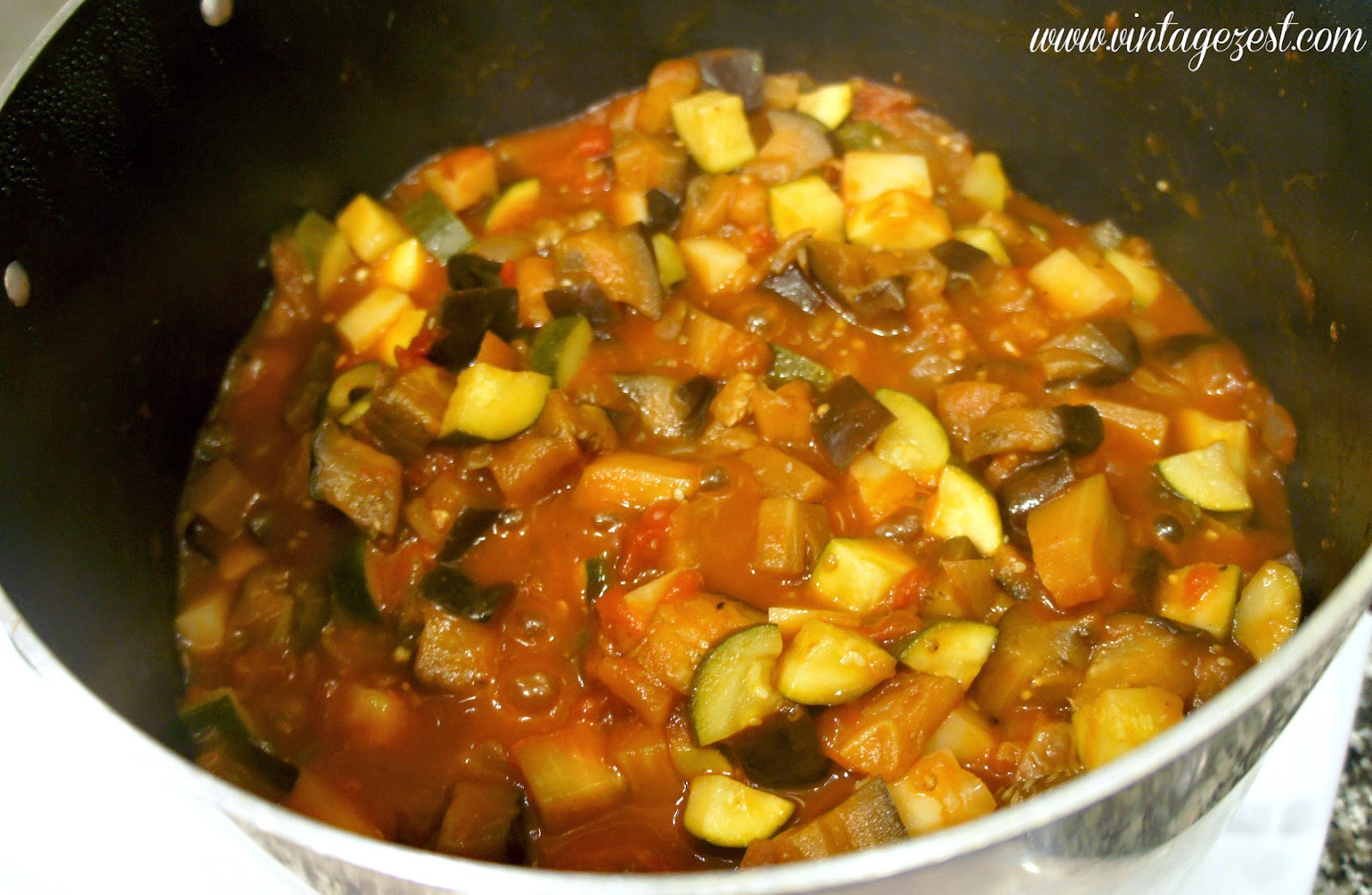 Veggie Güveç: Turkish Eggplant Stew #DinnerDone #CollectiveBias