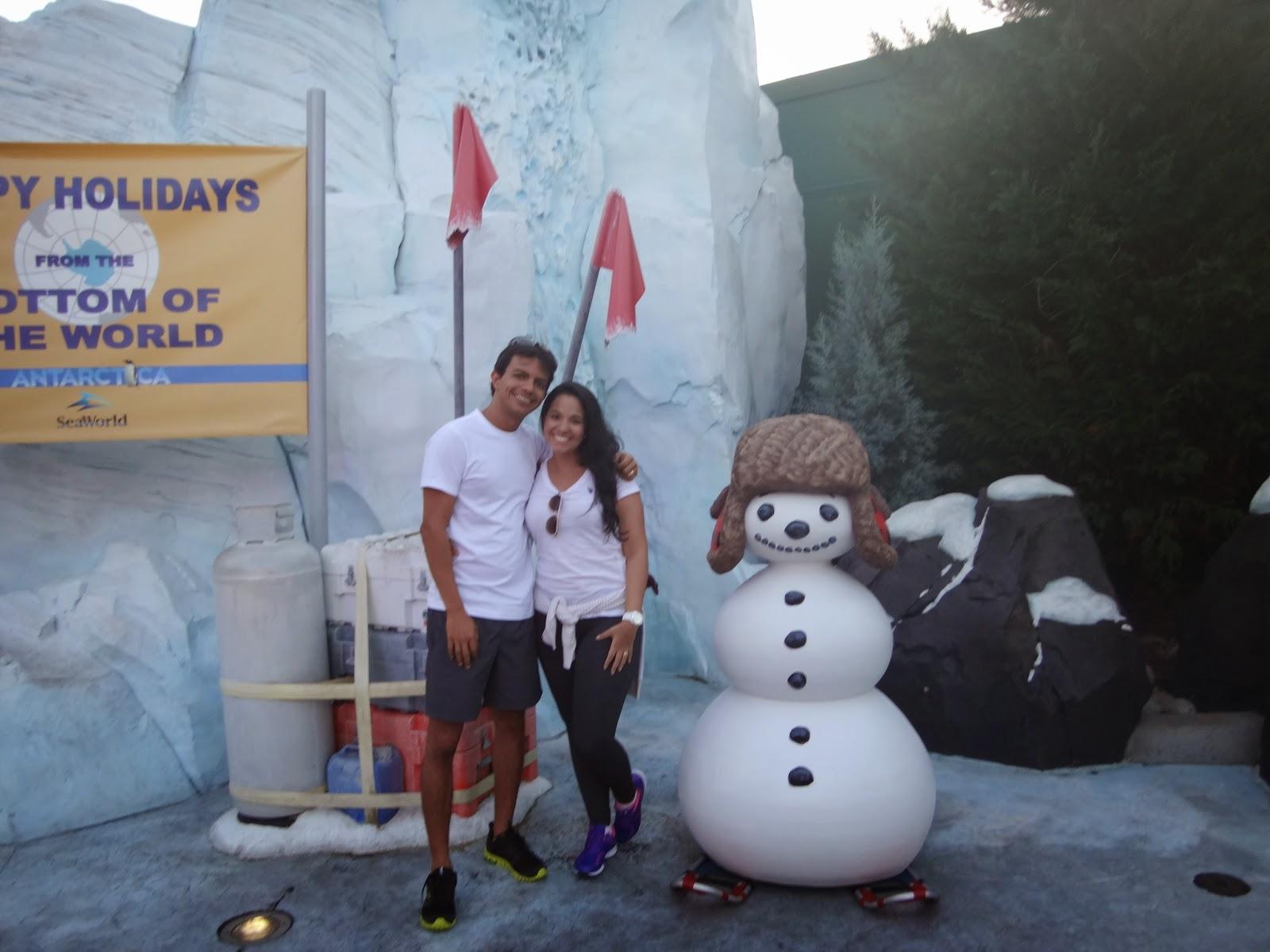 the polar express - parque sea world - orlando, florida