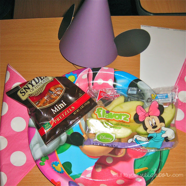minnie mouse party snacks
