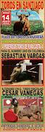 Cesar Vanegas anunciado en Santiago, en Norte de Santander, el 14/08.