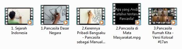 Video Pancasila