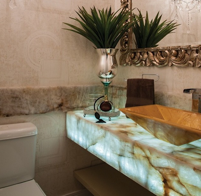 Construindo Minha Casa Clean LavabosBanheiros Clássicos com Espelhos Antigo -> Cuba Para Banheiro Luxo