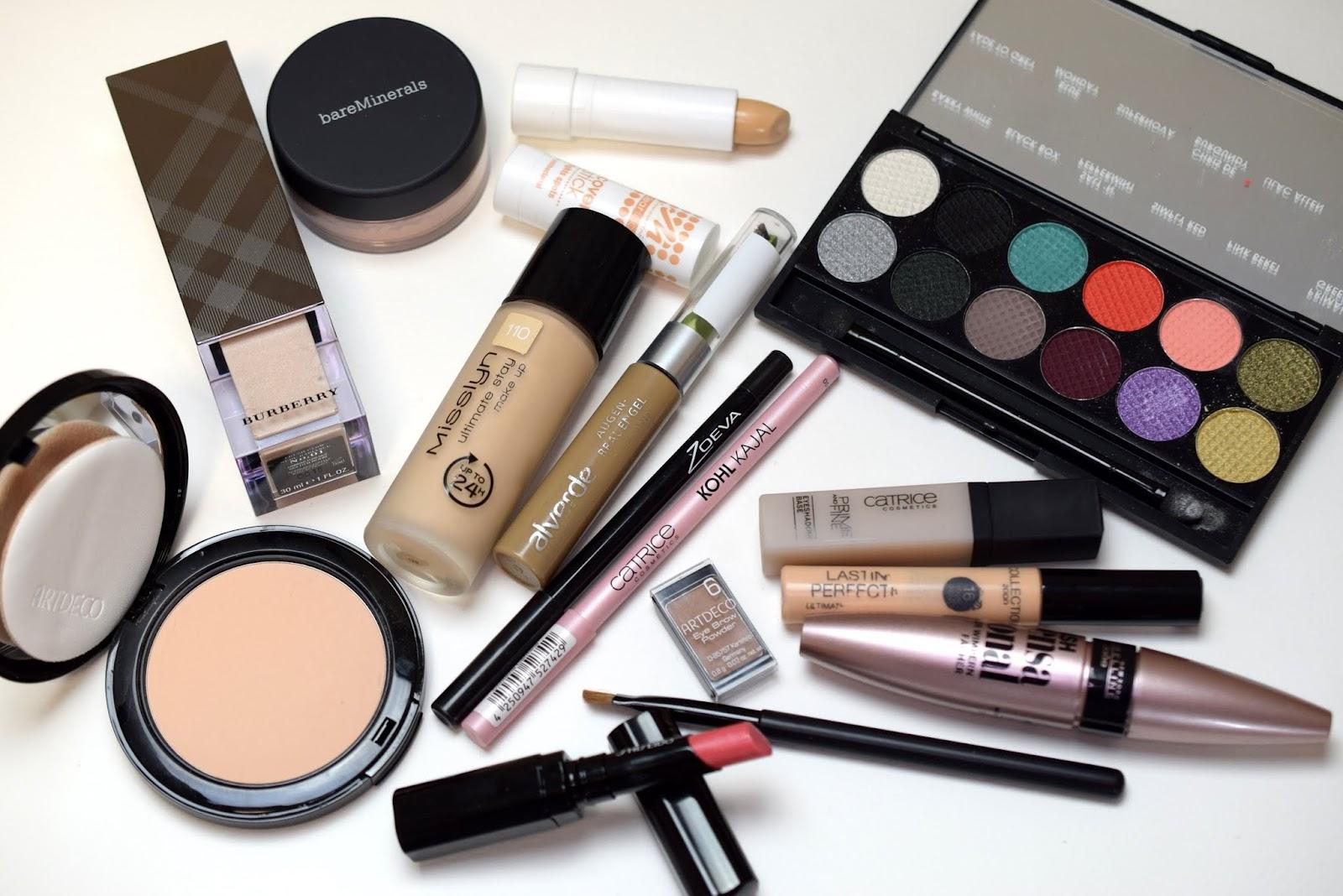 Look PPQ Me, Myself & Eye Palette: Verwendete Produkte