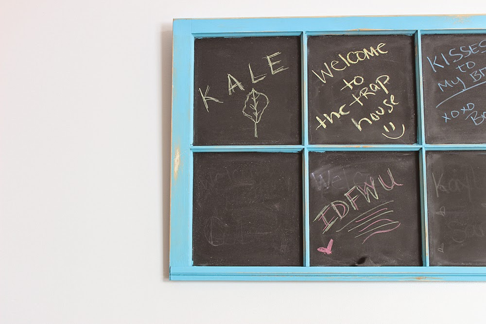 window blackboard