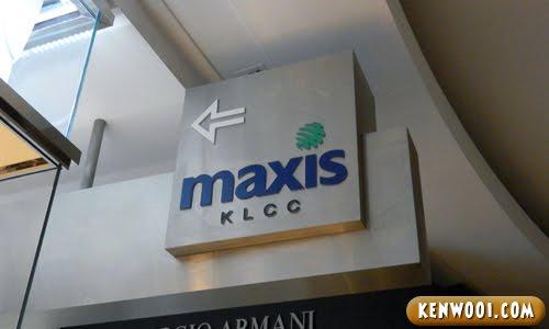 maxis klcc