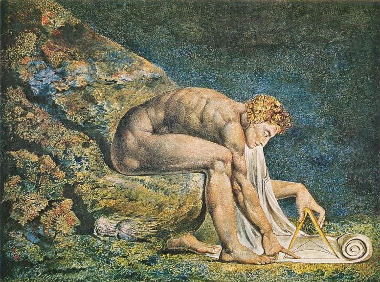 """Newton"" by William Blake"