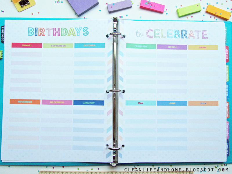 Clean Life and Home: The Teacher Planner!