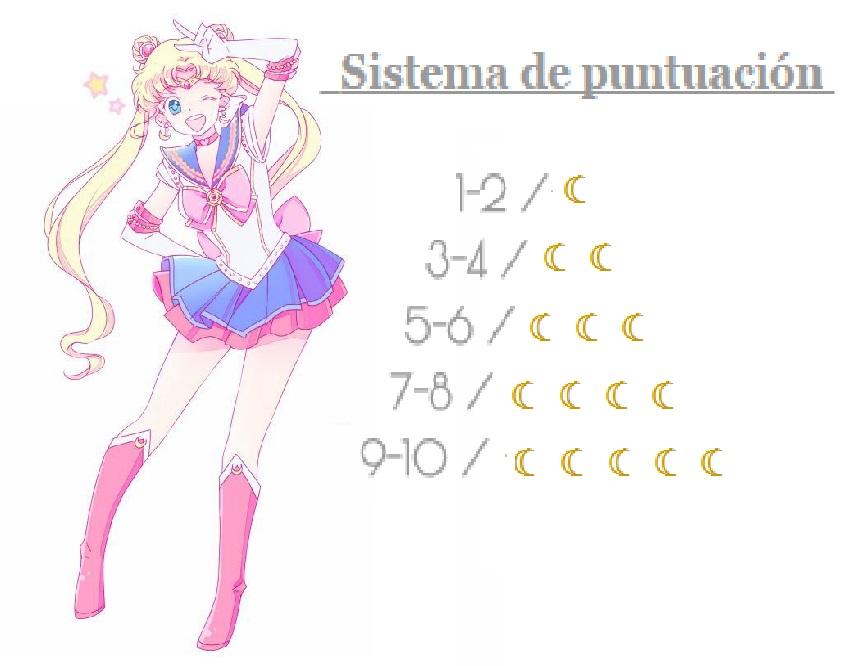 ☆Sistema de puntuación☆