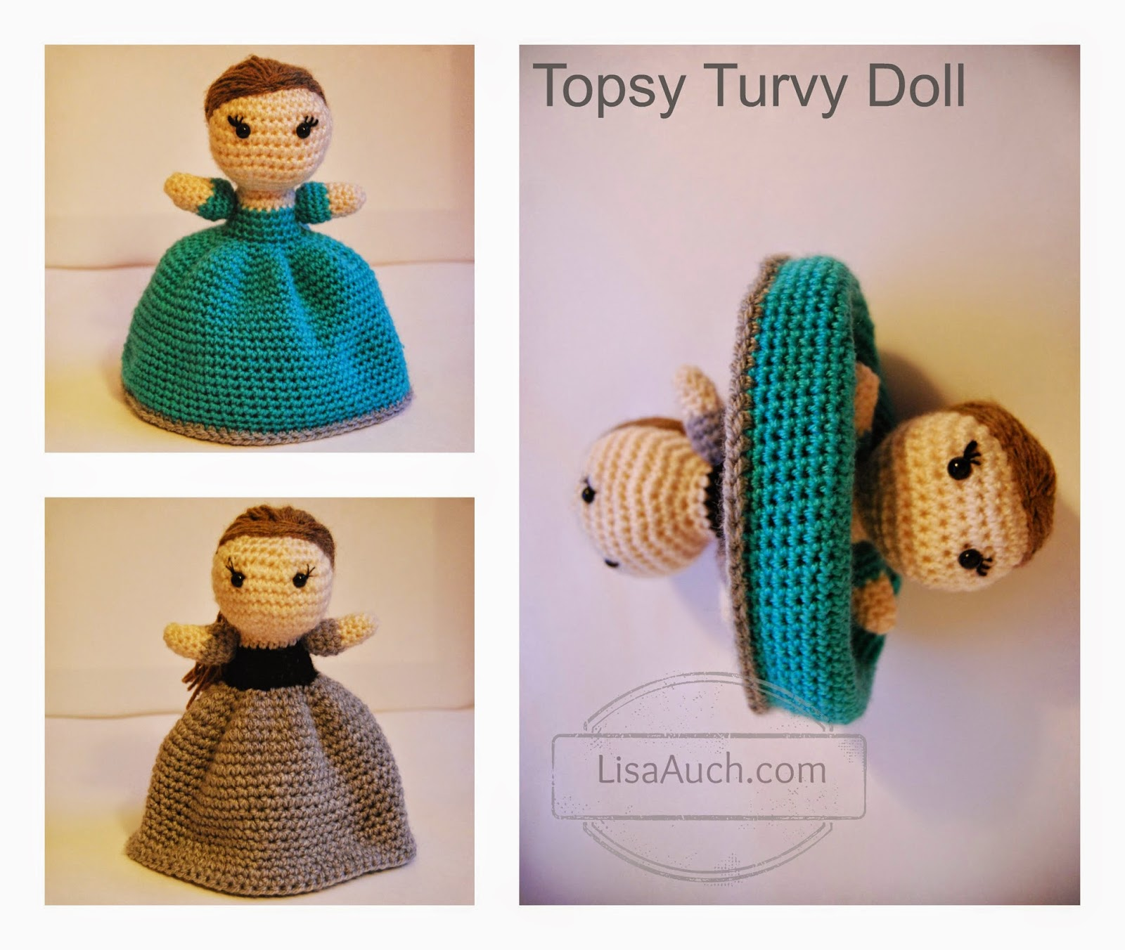 Toys To Crochet Free Patterns : FREE Crochet Amigurumi Doll Pattern The Original Topsy ...