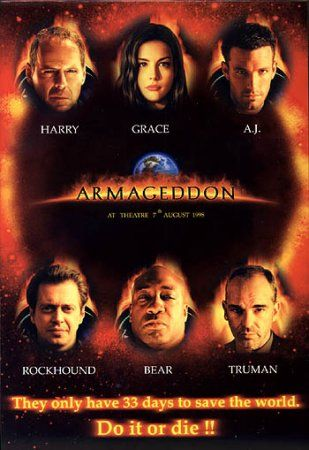 download filme Armageddon – BRRip AVI DualAudio