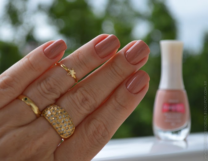Unhas da Jana, nude, beauty color, nail, esmalte, blogueira, blogger, joinville
