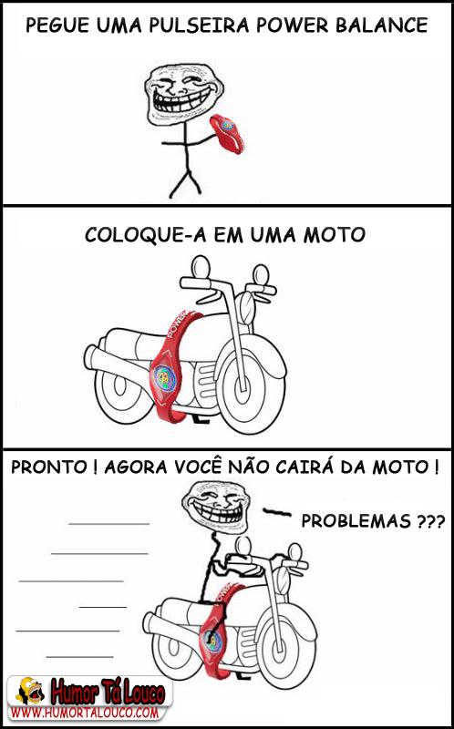 Como andar de moto sem cair... - Ciência Troll