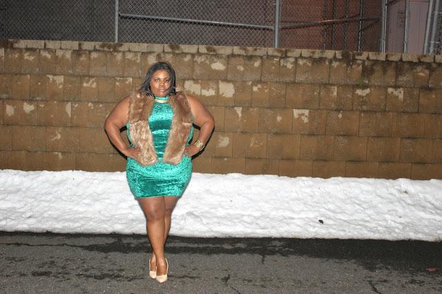 plus size, plussize, dresses,asos,blogger,fur,asos