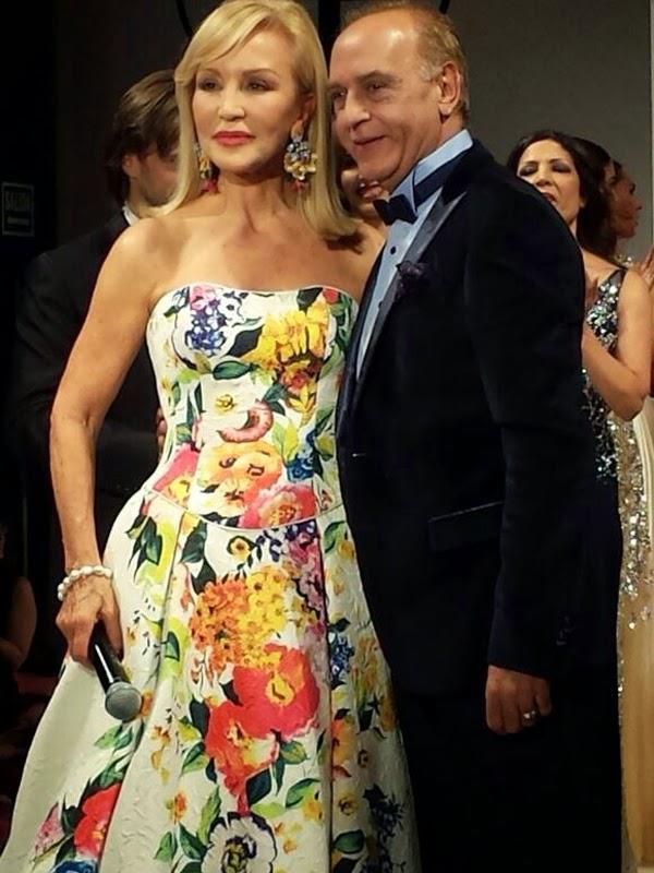 Carmen Lomana y Toni Fernández