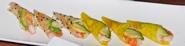 EDO-Ko Japanese Cuisine Restaurant in Toronto, barry Chaim, Executive Chef Ryo Ozawa, award, winning, winterlicious, sushi, seiyo-ryori, review, food, the purple scarf, melanie.ps, ontario, canada, hand rolls
