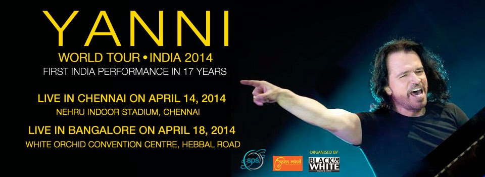 Yanni, Live in Chennai!