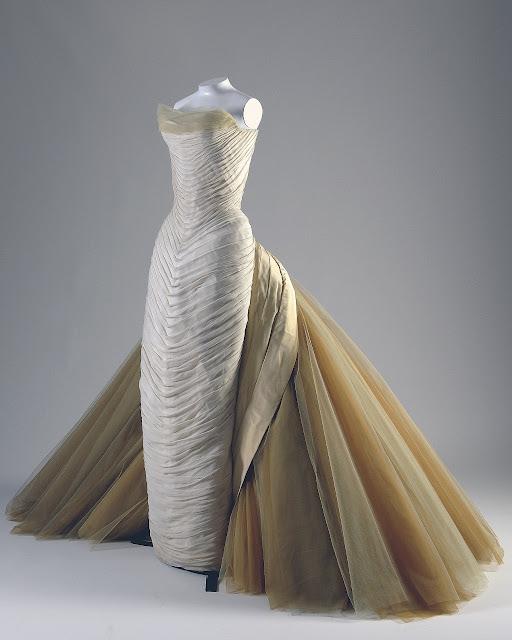 Sommerfugl galla kjole, Charles James, 1955