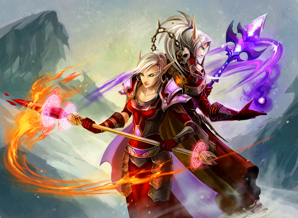 Design theory image post 2 wow fanart - World of warcraft images ...