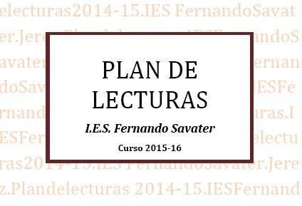 Plan de Lectura 2015/16