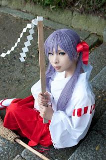 Lucky Star Kagami Hiiragi cosplay by Kanda Midori