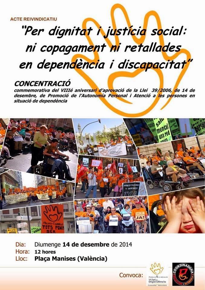 CONCENTRACIÓN 14 DICIEMBRE. POR DIGNIDAD Y JUSTICIA SOCIAL