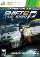 Shift 2, Unleashed, game, Xbox, soundtrack