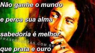 Frases de Bob Marley - Frases Curtas