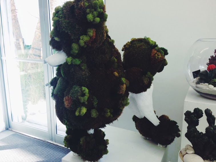 Moss poodle Plant the Future Miami Art Basel 2013