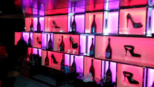 Detalle de la barra, Le Boutique disco Madrid