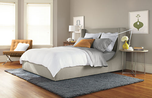 Marlo Bed from Room Board  Price   1599. Andrew Barnes Lifestyle  Upholstered Headboards