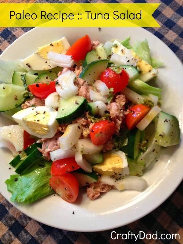 Paleo recipe breakfast tuna salad best chef recipes for Best tuna fish recipe