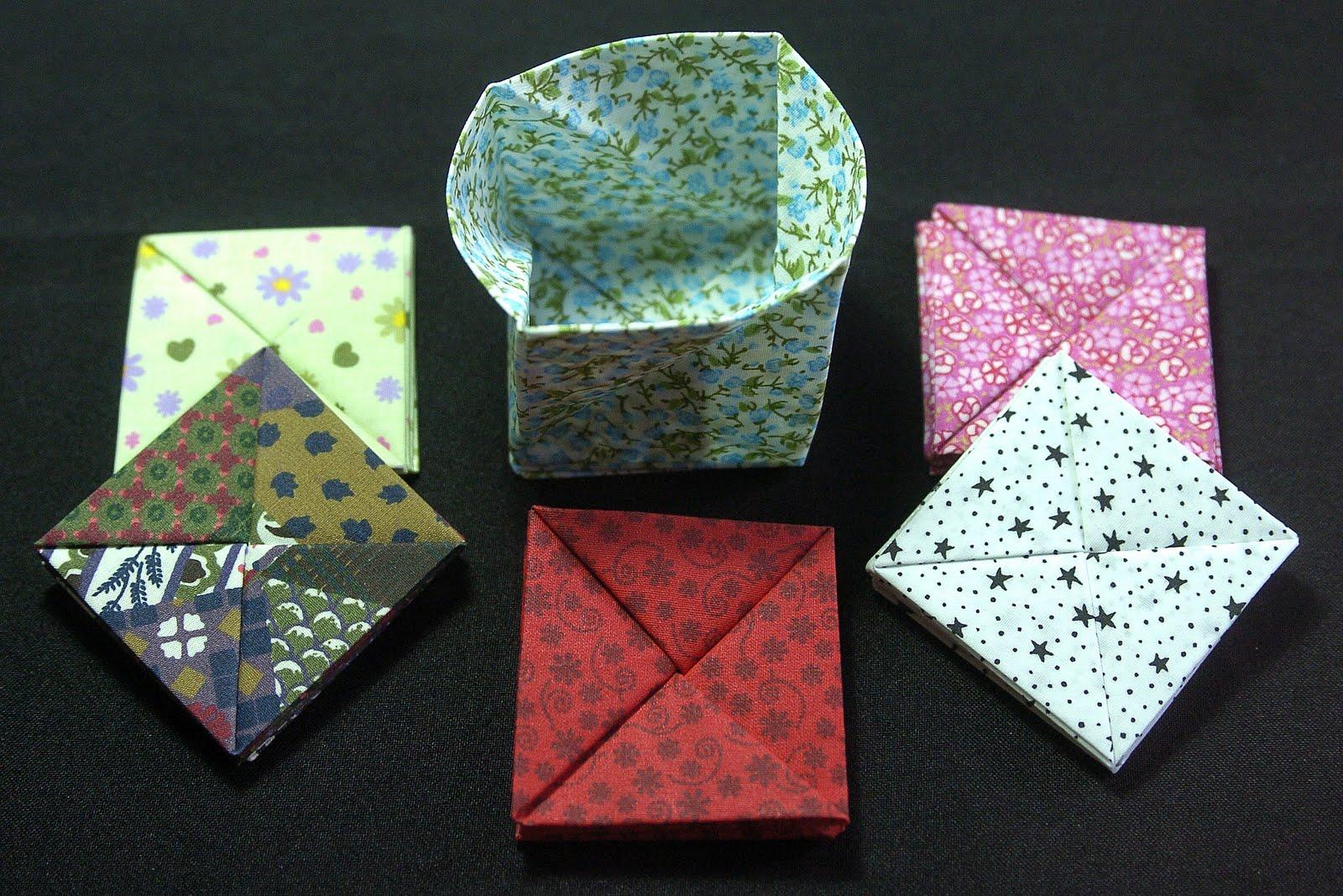 Bolsa Em Origami De Tecido : Drika naka origami em tecido porta moeda