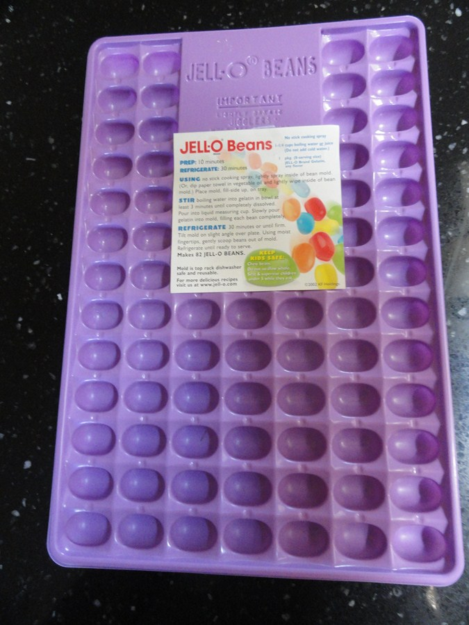 Jelly Bean Jello Jiggler Mold