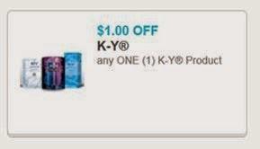 KY Liquibeads $1 Off Coupon
