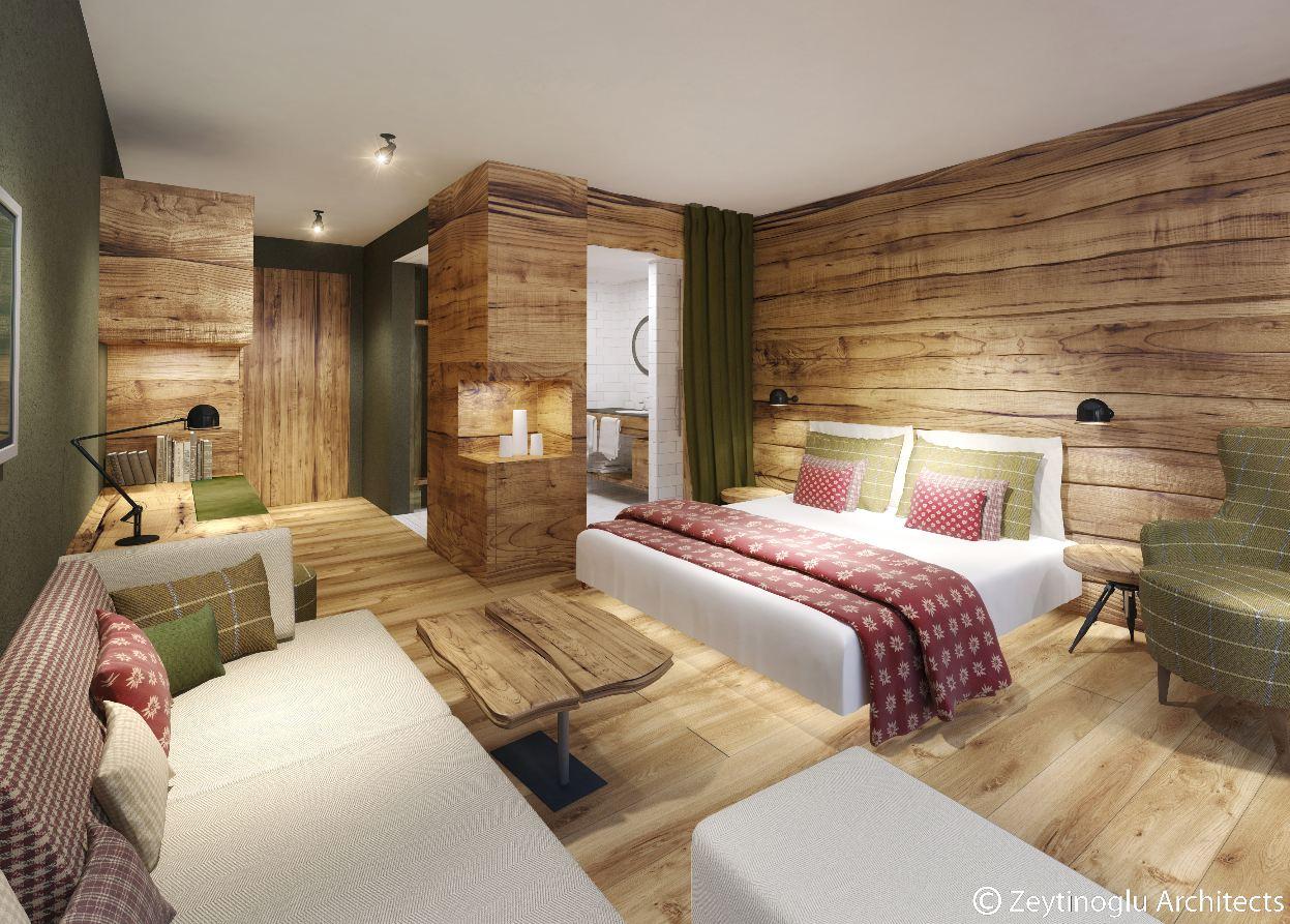 Gästezimmer Modern Luxus
