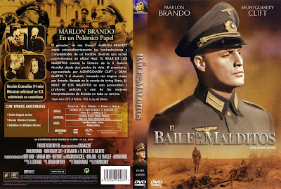 Cover, dvd, caratula: El baile de los malditos | 1958 | The Young Lions