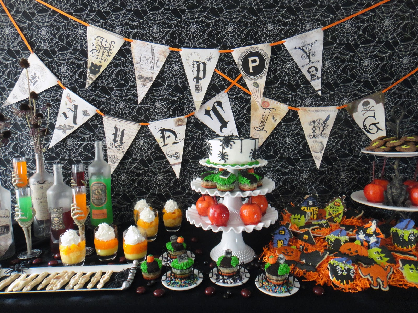 worth pinning happy haunting halloween party