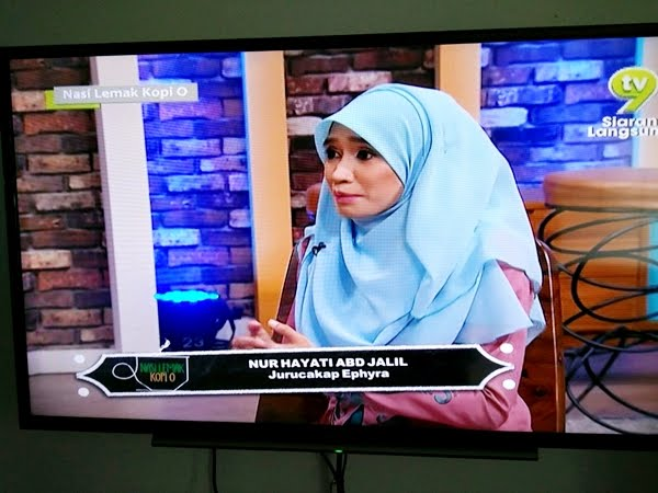 FEATURED in NASI LEMAK KOPI O TV9